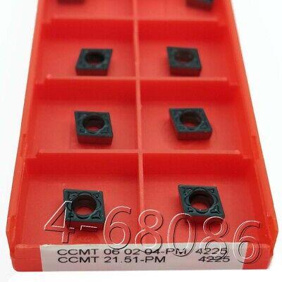 "10PC MMT11IR AG60 US735 Carbide Insert CNC Blade Lathe Threading  11IR 1//4/"" AG60"