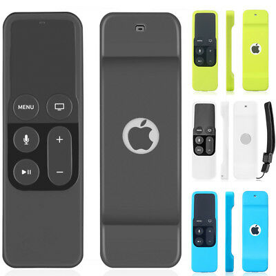 For Apple TV 4K 4th Gen Remote Control Silicone Soft Protective Skin Case Cover