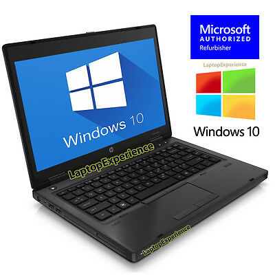 "HP LAPTOP COMPUTER PROBOOK WINDOWS 10 WIN 14"" 2.1GHz 4GB NOTEBOOK PC DVDRW WiFi"