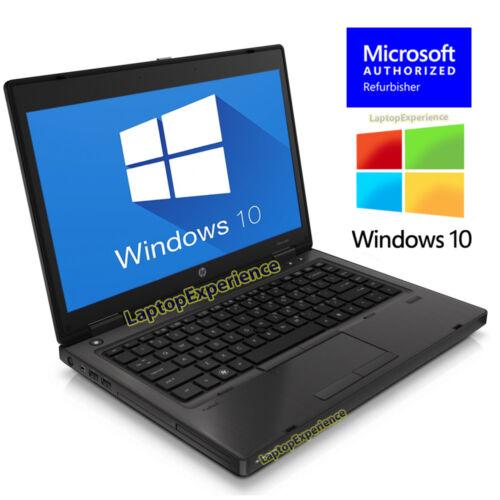 HP LAPTOP COMPUTER PROBOOK WINDOWS 10 WIN 14 2.1GHz 4GB NOTEBOOK PC DVD