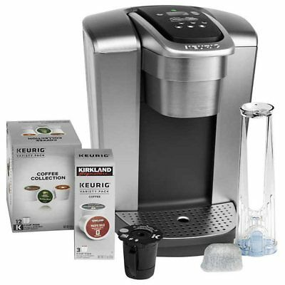 Keurig K-Elite C Single Serve Coffee Maker, NO TAX, 15 K-Cup Pods, Coffee Filter