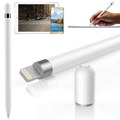 White Stylus - Magnetic Protective Stylus Pen Cap for Apple 9.7 10.5 12.9 iPad Pro Pencil IN US
