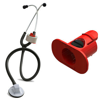 S3 Stethoscope Tape Holder Red - Littmann Adc Nursing Emt Ems Medic Nurse Gift