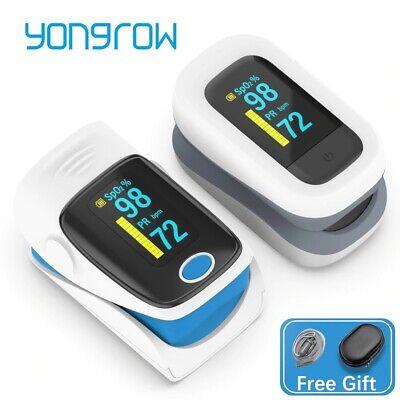 Medical Household Digital Finger Pulse Oximeter Blood Oxygen Meter Heart Rate