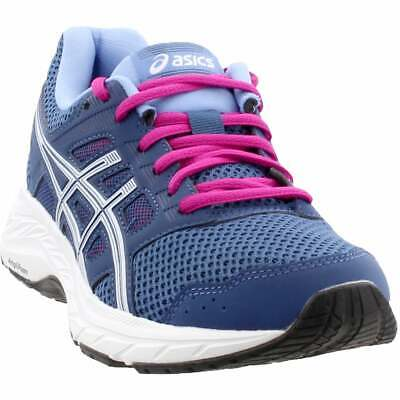 ASICS Gel-Contend 5  Casual Running Stability Shoes - Blue - Womens