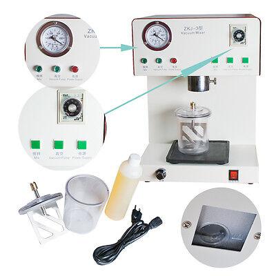 Ce Fda Dental Vacuum Mixer Machine Dental Lab Equipment 110 220v Mixing Vibrate