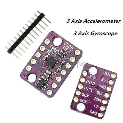Iicspi Lsm6ds3 3 Axis Gyroscope Accelerometer 6 Axis Sensor Transfer Module