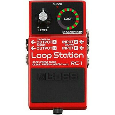 Boss RC-1 Guitar Loop Station Stereo Effect Pedal Brand New Free Ship w/Tracking