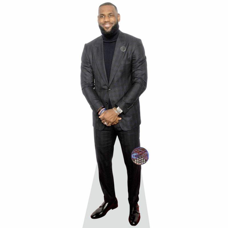 LeBron James (Black) Life Size Cutout