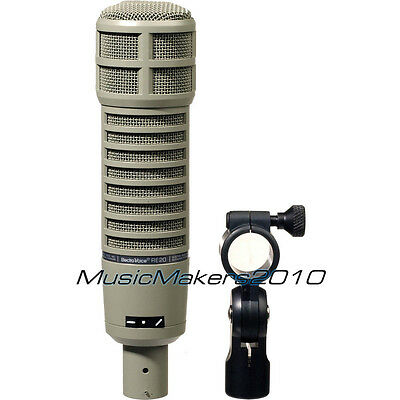 ELECTRO-VOICE RE20 Cardioid Variable-D Dynamic Voiceover Microphone EV RE-20