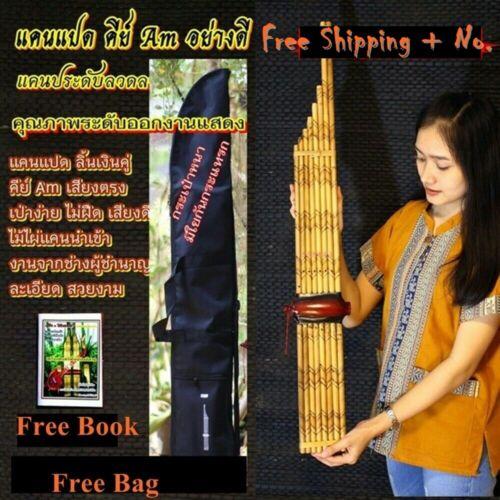 Musical Folk Khaen Bamboo Thai Tradition Isan Good Sound For Professional Key Am