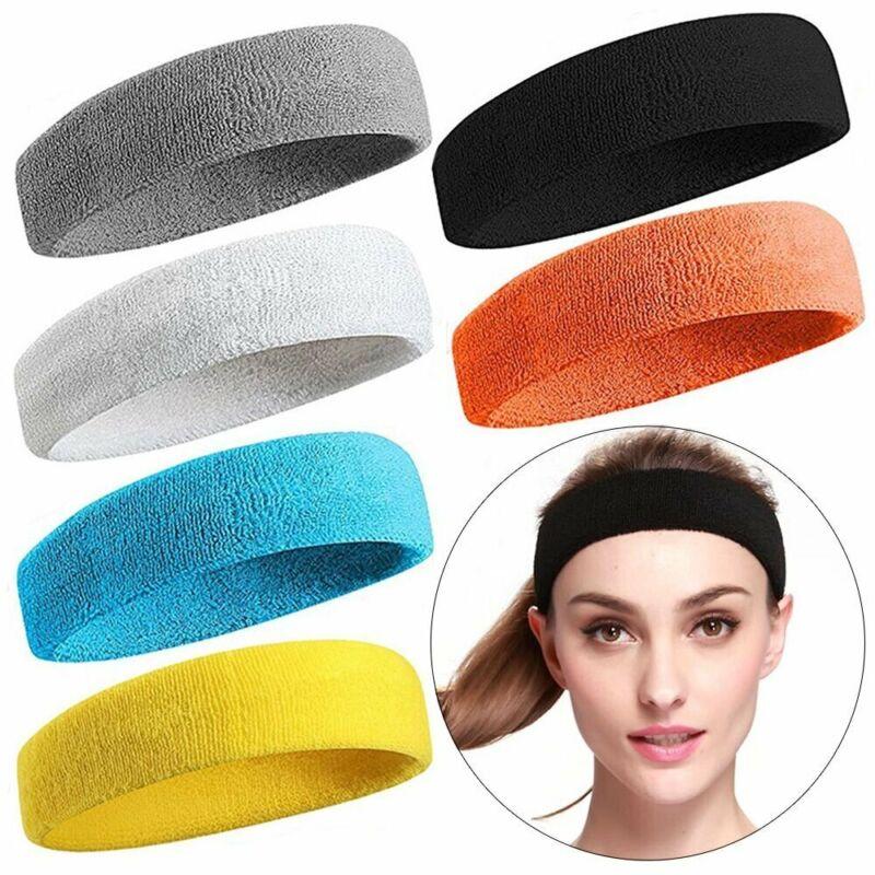 Männer Frauen Schweißband Stirnband Yoga Gym Running Stretch Sport Kopfband