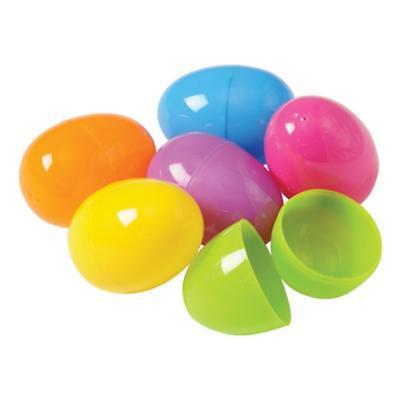 Plastic Easter Eggs (50 per order), Assorted Colors](Easter Eggs Plastic)