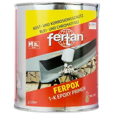 Fertan Ferpox Epoxy Primer 2,5 kg 2 Liter Grundierung für Metalle online kaufen