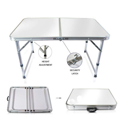 Indoor Camping Party (Aluminum Folding Table 4'Portable Indoor Outdoor Picnic Party Camping Tables)
