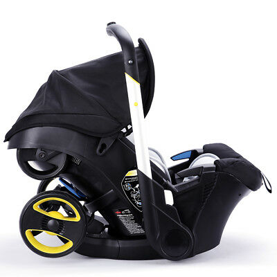 Luxury Newborn Baby Trolley 3 4 in 1 Car Seat Strollers With
