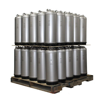 Qty 50 Pallet - New 5 Gallon Ball Lock Homebrew Beer Coffee Kegs - Ships Free