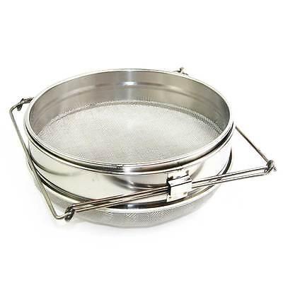 304 Stainless Steel Top - Food Grade 304 Double Sieve Stainless Steel Bucket Top Honey Strainer GLSTRAINER
