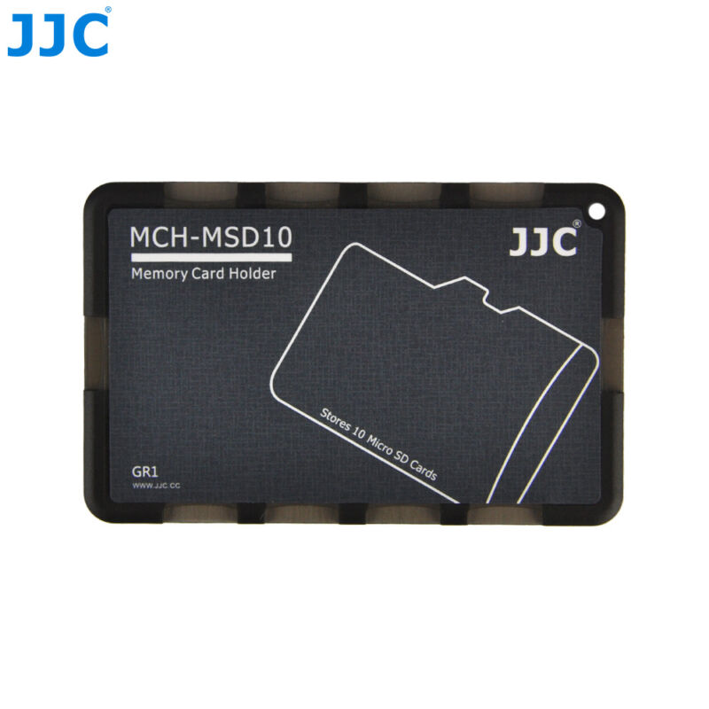 """0.1"""" Thick Memory Card Protective Storage Case Holder for 10 Micro SD MSD Cards"""