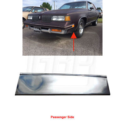 Chrome Lower Fender Trim (81-88 Cutlass Supreme Lower Fender Chrome Molding Trim (FRONT of Tire) RIGHT)