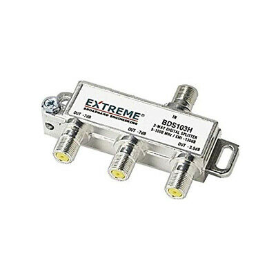 Extreme 3-way Unbalanced Hd Digital 1ghz Coax Cable Splitter - Bds103h