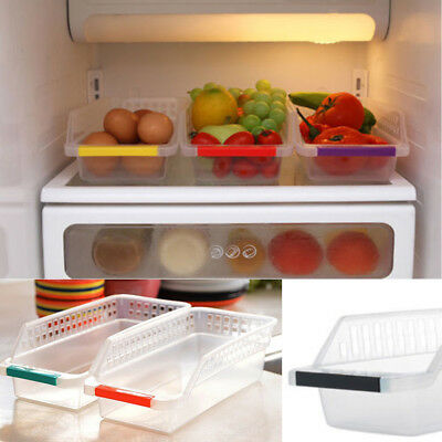 Scullery Storage Collecting Box Basket Refrigerator Fruit Organiser Rack Utility