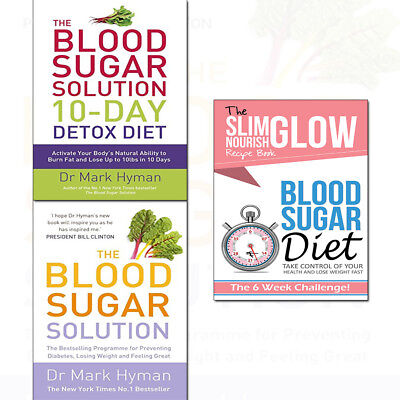 Sugar Control Diet - Blood Sugar Diet Take Control & Blood Sugar Solution Diet 3 Books Collection Set