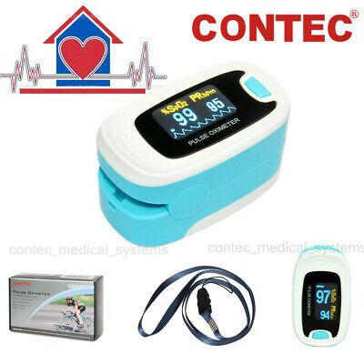 Home Use Finger Pulse Oximeter Blood Oxygen Saturation Monitor Spo2 Color Oled