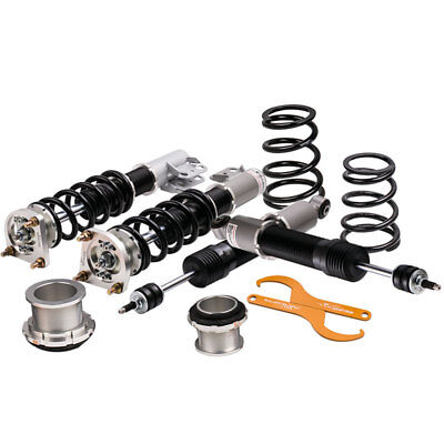 New Coilovers Suspension Kit for Ford Mustang 94-04 4th 24 Ways Adj. Damper Grey Mustang Rear Coilover Kit