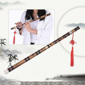 Pluggable Handmade Bitter Bamboo Flute/Dizi Traditional Chinese Woodwind Q5W6