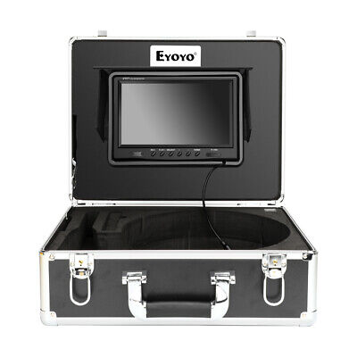 Eyoyo 9 Inch 80m Pipe Inspection System 23mm Waterproof Sewer Camera Video 8gb