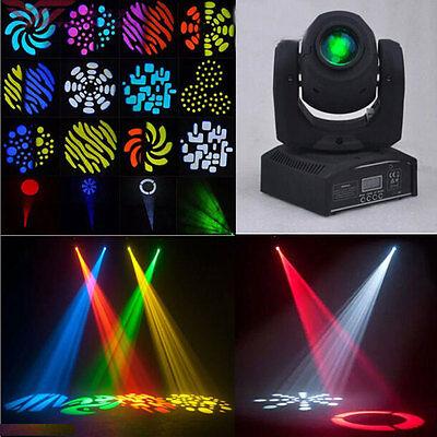 30W LED Moving Head Light Pattern Effect DMX-512 DJ Xmas Stage Lighting 9/11CH