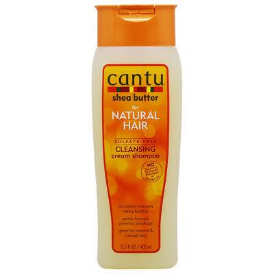 Cantu Shea Butter Sulfate-Free Cleansing Cream Shampoo 13.5oz w/Free Nail File