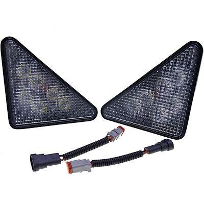 2pcs 30w Led Light Kit Headlights For Bobcat 751 753 763 773 863 864 873 883