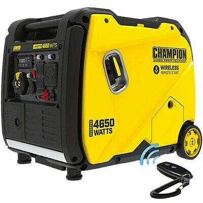 Champion 200993 - 3650 Watt Electric Start Inverter Generator W Rv Outlet ...