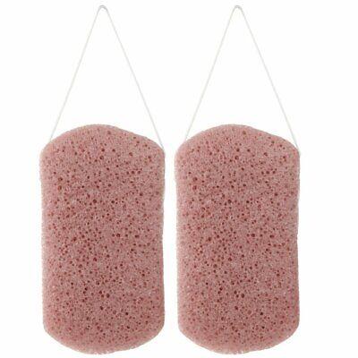 Konjac Body Wash Sponge (Set of 2), Rectangular Bath  ()