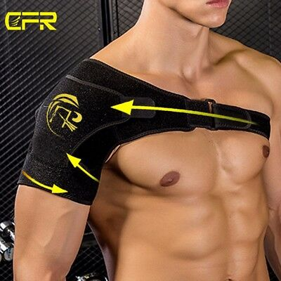 Men Women Shoulder Brace Rotator Cuff Support Injury Prevention Dislocate Belt S