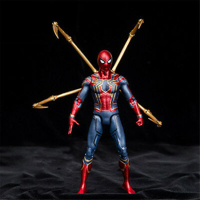 Marvel 7  Spider Man Iron Spider Avengers Infinity War Action Figure Toy  Gifts