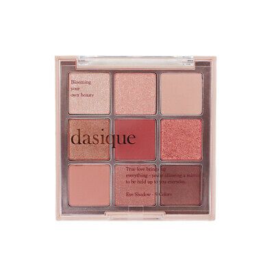 Eyeshadow Palette DASIQUE 02 Rose Petal 9 Colors Makeup Eyeshadow Glitters Matte