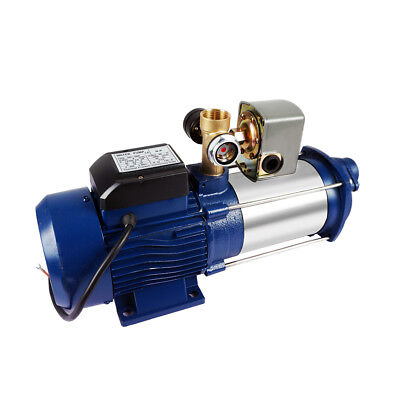 Adjustable Irrigation Centrifugal Booster Electric Water Pump Ssteel Jet Pump