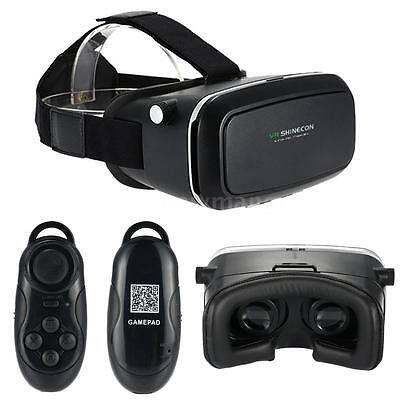 2nd VR Box Shinecon 3D Virtual Reality Glasses +Bluetooth Control For Smartphone