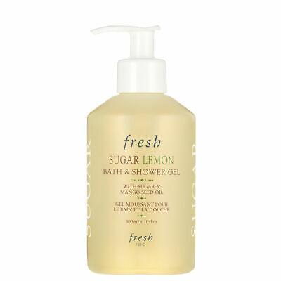 Fresh Sugar Lemon Bath & Shower Gel Pump with Mango Seed Oil 10oz (300ml)