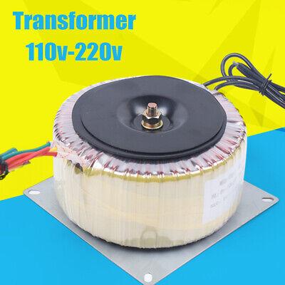 45hz-60hz Toroidal Power Transformer Input Voltage Ac110v-ac220v Output Ac60v