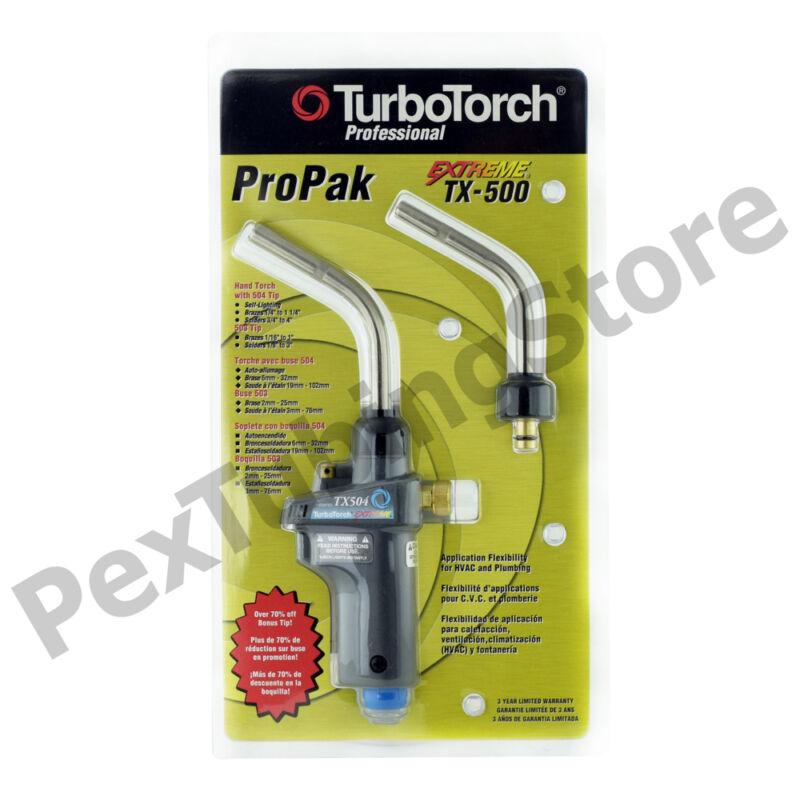 TurboTorch 0386-1299 TX-500 Torch Swirl Kit, MAP-Pro/Propane, Self Lighting