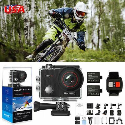 2020 NEW AKASO EK7000 PRO Sports Action Camera 4K HD 16MP Wifi EIS Touch Screen