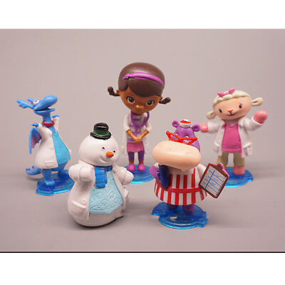 Dragon Gift (Doc Mcstuffins Check Up Time Dottie Dragon Hippo 5PCS Action Figure Kid Gift Toy )