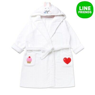 [Line Friends] Cony Unisex Sleep Robe Pajama Nightgown Bath Robe Sleepwear
