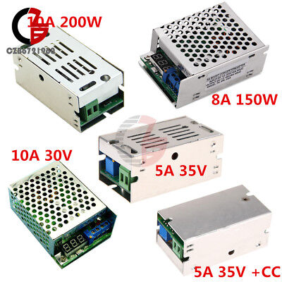 5a 8a 10a 150w 200w Dc-dc Boost Buck Converter Charger Step Up Down Power Module