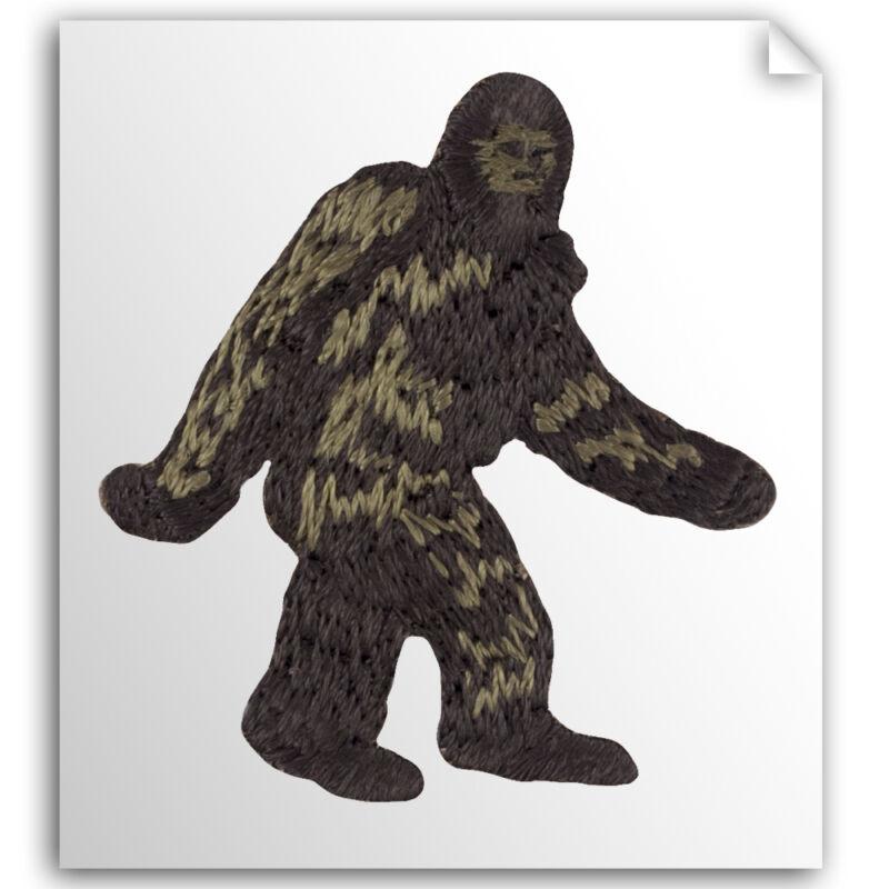 Embroidered Bigfoot/Sasquatch (BSA-AP173-3) 3-pack Self-Stick Applique Patches!