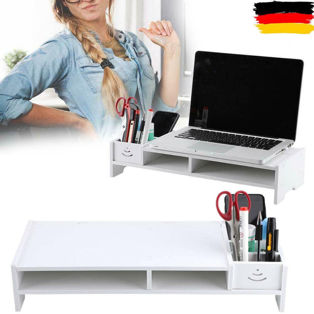 Monitorständer Schreibtischaufsatz Monitorerhöhung Bildschirm Aufsatz 38 cm NEU